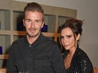 Victoria Beckham s manželom Davidom