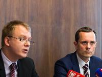 Miroslav Beblavý a Radoslav Procházka zo #Siete.