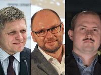Robert Fico, Marián Kotleba, Richard Sulík,