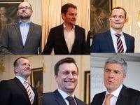 šiesti lídri prípadnej koalície.