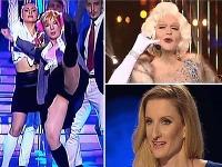 Helena Krajčiová ukázala nohavičky, Adela Banášová opísala svoj striptíz a Štefan Skrúcaný doslova žiaril.