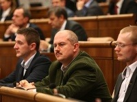 Milan Uhrík, Marián Kotleba a Rastislav Schlosár