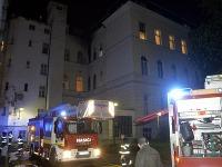 požiar v nemocnici