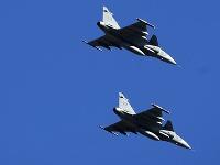 Stíhačky JAS-39 Gripen