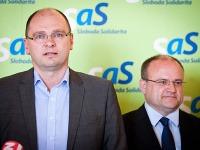 Richard Sulík a Jozef Mihál