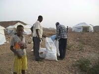 Utečenci v eritrejskom tábore (Ilustračné foto).