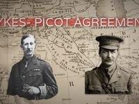 Tvorcovia dohody - Sykes (vpravo) a Picot