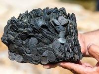 Zhluk starovekých mincí