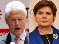 Bill Clinton a Beata Szydlová