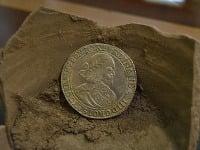 Strieborná minca s vyobrazením Ferdinanda III.