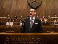 Andrej Kiska v parlamente