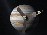 Sonda Juno pri Jupiteri