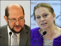 Boris Zala a Monika Flašíková-Beňová