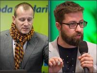 Boris Kollár a Martin Poliačik