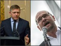 Robert Fico a Richard Sulík