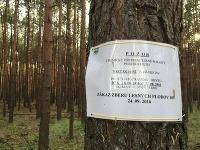 Zákaz v záhorských lesoch.