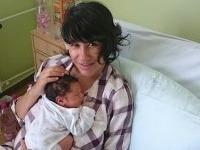 Lucia Nicholsonová so synčekom Kubom.