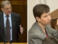 Martin Fronc a Monika Gibalová