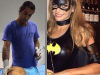 Yassine Ghazi sa pochválil aj fotkou s modelkou Andreou Verešovou.