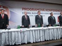 Maroš Šefčovič, Bohuslav Sobotka, Robert Fico, Sigmar Gabriel, Thomas Drozda