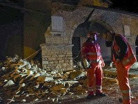 Taliansko zasiahlo zemetrasenie