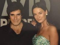 Davidovi Copperfieldovi sa zapáčila slovenská modelka Barbora Olejníková.