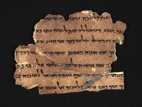 Papyrus z čias Prvého jeruzalemského chrámu
