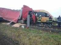 Nehoda v obci Zemianska Olča