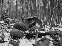 Z lietadla ostali po páde len trosky, v ktorých zahynuli všetci pasažieri aj posádka