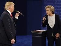 Donald Trump porazil v prezidentských voľbách Hillary Clintonovú