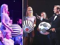 Moderátorka Lucia Barmošová sa nečakane stala súčasťou vystúpenia kúzelníka Tomasiana.