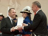 Michal Kaščák a Andrej Kiska