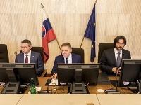 Peter Pellegrini, Robert Fico a Robert Kaliňák