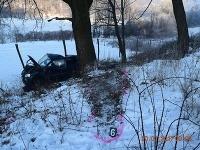 Polícia v Lučenci vyšetruje smrteľnú dopravnú nehodu, ktorá sa stala v piatok 20. januára 2017 o 07.40 h na ceste v katastri obce Šiatorská Bukovinka. Vodič narazil do stromu a zahynul.