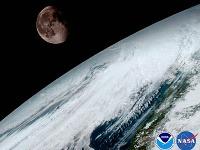 Zábery z družice GOES-16