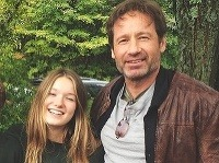 David Duchovny s dcéru Madelaine