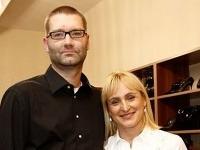 Andy Kraus s manželkou Danielou.
