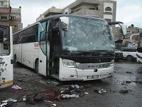 Útok teroristov v Damasku si vyžiadal životy 74 ľudí.