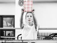 Hlavnú postavu Anny Frankovej v novom predstavení Štátneho divadla Košice stvárňuje Táňa Pauhofová