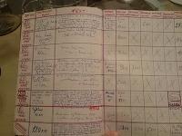Bežecký denník spred 40 rokov.