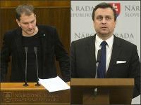 Igor Matovič a Andrej Danko