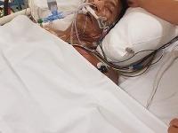 Terry v nemocnici bojuje o život