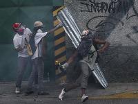Masové protivládne demonštrácie vo Venezuele