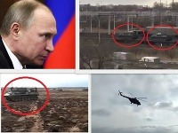 Svedkovia zachytili transport vojenskej techniky.