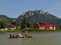 Pltníci na rieke Dunajec.  (Ilustračné foto)