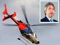 Tomáš Chrenek a jeho nová helikoptéra