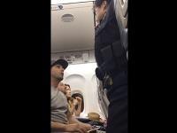 Brian sa dohaduje s letuškou