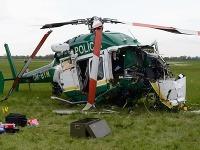Zrútený vrtuľník