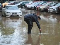 Povodeň v Prešove.