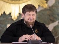 Prezident Čečenskej republiky Ramzan Kadyrov.